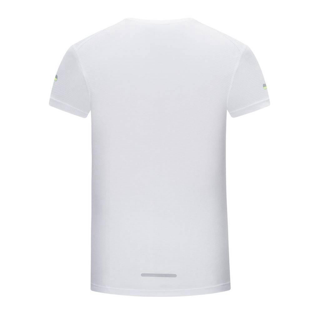 短袖t恤 男 圆领纯色白色潮流修身春夏季上衣