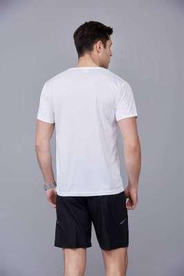运动速干T恤 白色 2020春季新款宽松透气