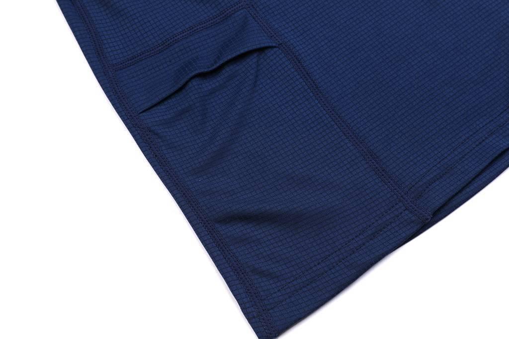 2020夏装新款 男生潮衣服短袖T恤 打底衫藏青色细节展示