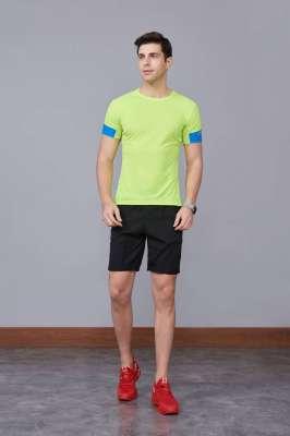 潮流运动T恤 打底衫 圆领休闲宽松款 绿