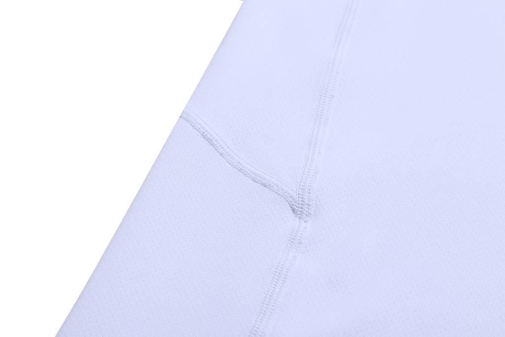 T恤订制  短袖2020新款休闲轻薄健身 运动上衣 白色细节图