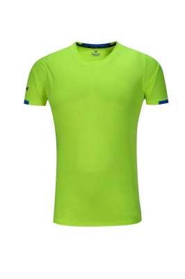 新款短袖T恤  纯色T恤半袖基础款 果绿