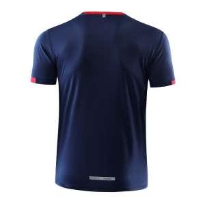 新款短袖T恤  纯素色T恤半袖基础款 藏青色3D图